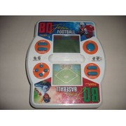 1990 Tiger Electronics Bo Jackson Electronic Hand Held Football/baseball Game