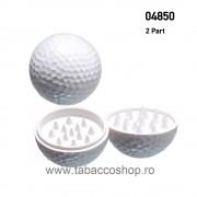 Grinder din plastic in forma de minge de golf 40mm