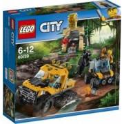 LEGO CITY - MISIUNE IN JUNGLA CU AUTOBLINDATA 60159
