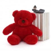 2.5 Feet Fat and Huge Red Teddy Bear