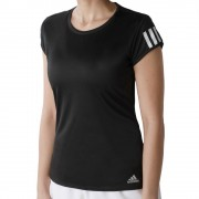 adidas Club 3-Stripes T-shirt Dames - zwart