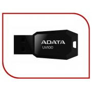 USB Flash Drive 16Gb - A-Data UV100 Classic Black AUV100-16G-RBK