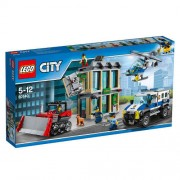 Set de constructie LEGO City Spargere cu Buldozerul