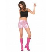 Pantalón corto disco rosa mujer M