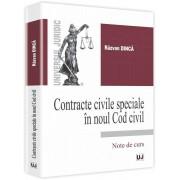 Contracte civile speciale in noul Cod civil
