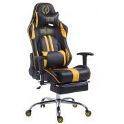 CLP Sedia da ufficio Racing Limit, nero/giallo , nero/giallo, altezza seduta