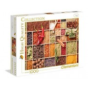 Clementoni High Quality Collection Very Spicy Jigsaw Puzzle (1000 Piece)