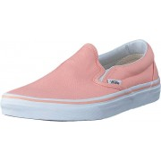 Vans UA Classic Slip-On Tropical peach/true white, Skor, Sneakers & Sportskor, Låga sneakers, Rosa, Vit, Dam, 38
