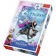 Puzzle Frozen - Salvarea Anei, 100 piese