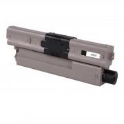 OKI Cartouche de Toner pour OKI 46490608 noir compatible (de marque ASC)