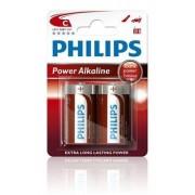Philips Batterij LR14 Powerlife 1.5V Per 2 Stuks