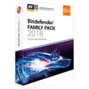 Bitdefender Family Pack 2018 - Appareils illimités - Abonnement 1 an