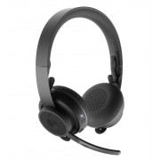 HEADPHONES, LOGITECH Zone, Microphone, Wireless (981-000798)