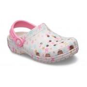Crocs Classic Printed Klompen Kinder Barely Pink 29
