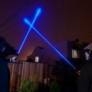 Мощен син лазер YX-B008 5000 mW
