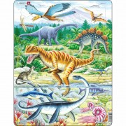 Puzzle Larsen Dinozauri, 35 piese
