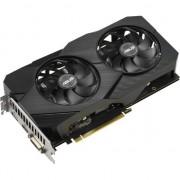 Placa video Asus Dual GeForce GTX 1660 Evo (90YV0D14-M0NA00) , 6GB , GDDR5 , 192 bit
