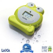 LAICA – BABY LINE – digitális fürdővíz hőmérő - béka