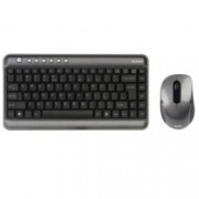 A4Tech V-Track 7300N, безжични клавиатура & мишка, компактен USB приемник