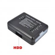 PC Computer ATX SATA HDD Voeding Tester LED Indicatie 20 24pin PSU Diagnostic Tool testen voor Anode Kathode 12 V 5 V 3.3 V kebidu