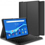 Detachable Bluetooth Keyboard Leather Tablet Cover for Lenovo Tab M10 Plus/Tab M10 Plus TB-X606F