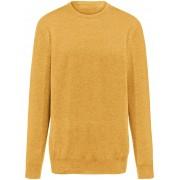 Peter Hahn Rundhals-Pullover aus 100% Kaschmir Modell Ralph Peter Hahn Cashmere gelb