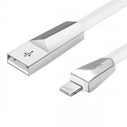 Hoco USB-laddkabel för iPhone 6, 7, 8 och X – Vit