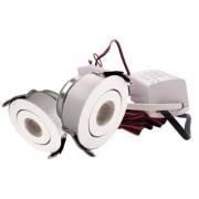 LED Set van 2 Inbouwspots - 3W - Wit