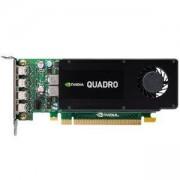 Видеокарта PNY Quadro Kepler K1200, 4 GB, GDDR3, 128-bit, PCI Express x16, Low Profile, DVI, PNY-VCQK1200DVI-PB