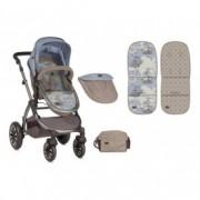 LORELLI kolica aurora beige&blue maps 10020921847