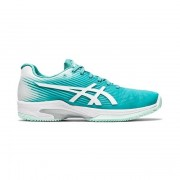 Asics Solution Speed FF Clay/Padel Women Techno Cyan/White 39