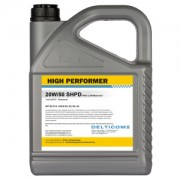 High Performer 20W-50 SHPD 5 Litre Can