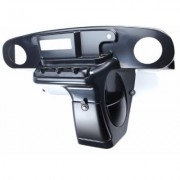 VIP TXDHBPEZIRT E-Z-Go TXT DIN Dash, Black Paintable