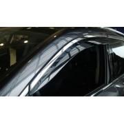 Дефлекторы боковых окон для Acura MDX «2014+» с полосой из нержавеющей стали