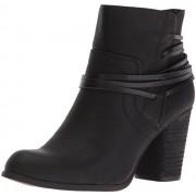 Madden Girl Women's Denice Ankle Bootie, Black Paris, 6 M US