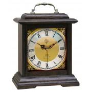 Rádiem řízené dřevěné melodické stolní hodiny JVD NSR15.2 Á La Campagne