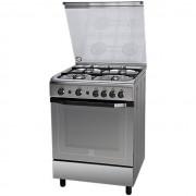 Indesit I6gg1f(X)/i Indesit Cucina 60x60 4 Fuochi A Gas Forno A Gas Classe A 58 Litri In
