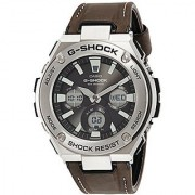 Casio G-shock Analog-Digital Black Dial Mens Watch-G737 (GST-S130L-1ADR)