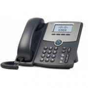 CISCO 1 LINE IP PHONE WITH DISPLAY POE PC PORT