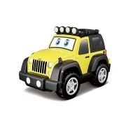 Jeep fénnyel és hanggal