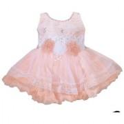 Girls Party wear Frock Dress for Baby Girl Soft net