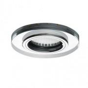 SOREN L-BL spot lámpatest , kör alakú , kék fényű , LED oldalvilágítással