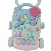Antepremergator Sun Baby Mini Piano, cu melodii si roti antiderapante