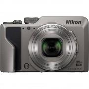 Digitalni fotoaparat Nikon A1000 silber 16 MPix Zoom (optički): 35 x Srebrna Elektroničko tražilo, Zaslon osjetljiv na dodir