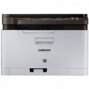 Лазерно многофункционално устройство Samsung SL-C480 Print/Scan/Copy, Print 18/4 ppm; Res. 2400x600 Scan Res. 4,800 x 4,800dpi(Enhanced) - SL-C480/SEE