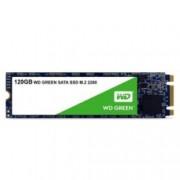 SSD 120GB Western Digital Green, SATA 6Gb/s, M.2 2280, скорост на четене 545 MB/s, скорост на запис 545 MB/s