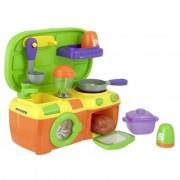 Mini bucatarie Miniland, sunete, baterii incluse, multicolor