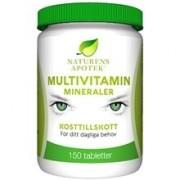 Naturens apotek Multivitamin mineraler 150 tabletter