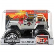 MATCHBOX JURASSIC WORLD '93 JEEP WRANGLER MATTEL FMY48
