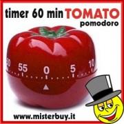 TIMER MECCANICO POMODORO 60 minuti